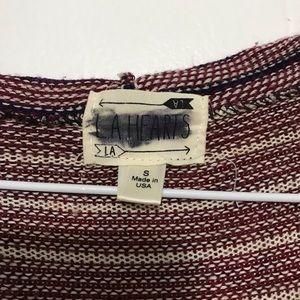 PacSun Sweaters - Pacsun Long Acrylic Tribal Print Cardigan Sweater